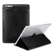 "Universal pu bag cover leather protective <strong>case</strong> <strong>for</strong> tablet apple new <strong>iPad</strong> pro air samsung under 11 inch 11"" with pencil holder"