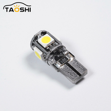 12V Canbus 5Smd 5050 Smd T10 Led Bulb Auto Interior Dome Light Lamp