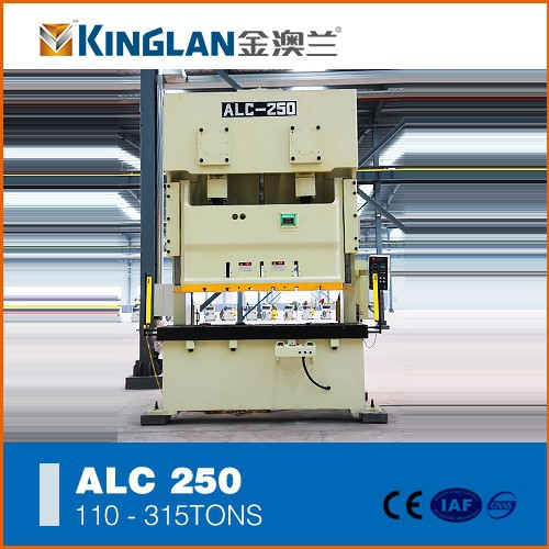 H Frame double Crank Mechanical Metal hardware punching Frame Presses