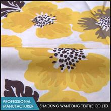 High quality soft combed printed breathable 100% cotton poplin fabric construction