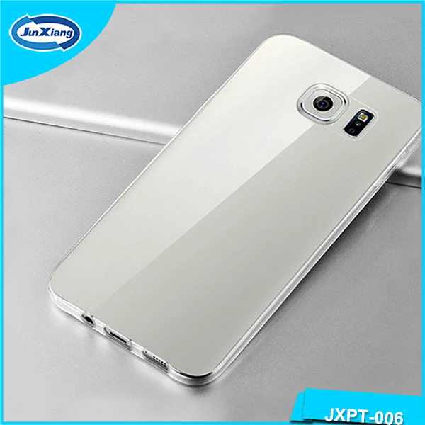 Transparent Supper thin TPU Cover Case for OPPO R7,phone back cover for OPPO R7
