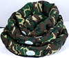Camouflage round style pet bed /dog beds