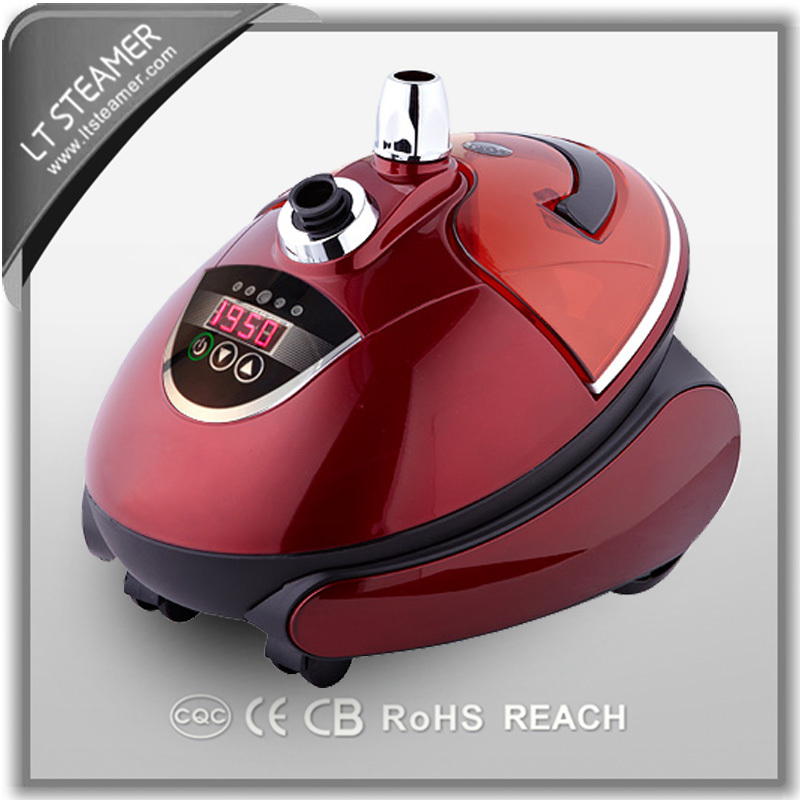 LT-8812 Red pearl standing full automatic fabric electric iron