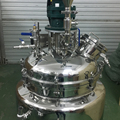 MZH-M100L Vacuum emulsion mixer machine