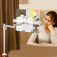 Universal 360 Degree Rotating Flexible Clip Tablet Bed Desktop Table Mount Holder Lazy Bracket Stand for iPad 2 3 4 Mini