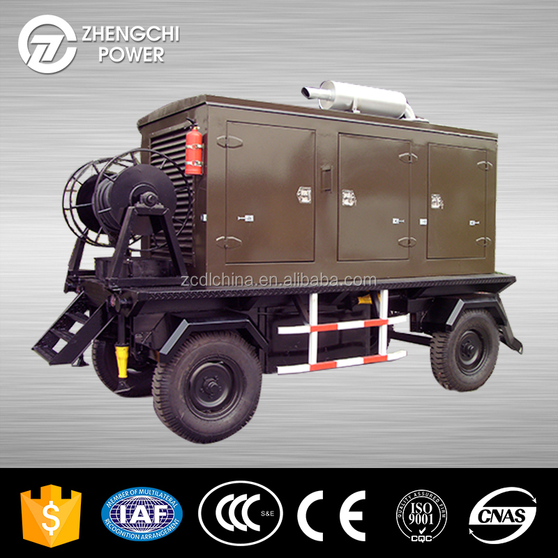 ZCDL-V114 and 104kw self powered electric generators