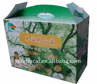 handicraft portable paper box