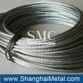 ungalvanized steel wire rope and pvc coated steel wire rope