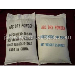 dry chemical powder of fire extinguishing agent