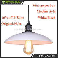 CE/RoHs approved simple retro style hanging industrial lamp vintage pendant