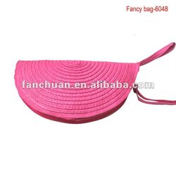 Fashion dumpling shape beach wallet nature