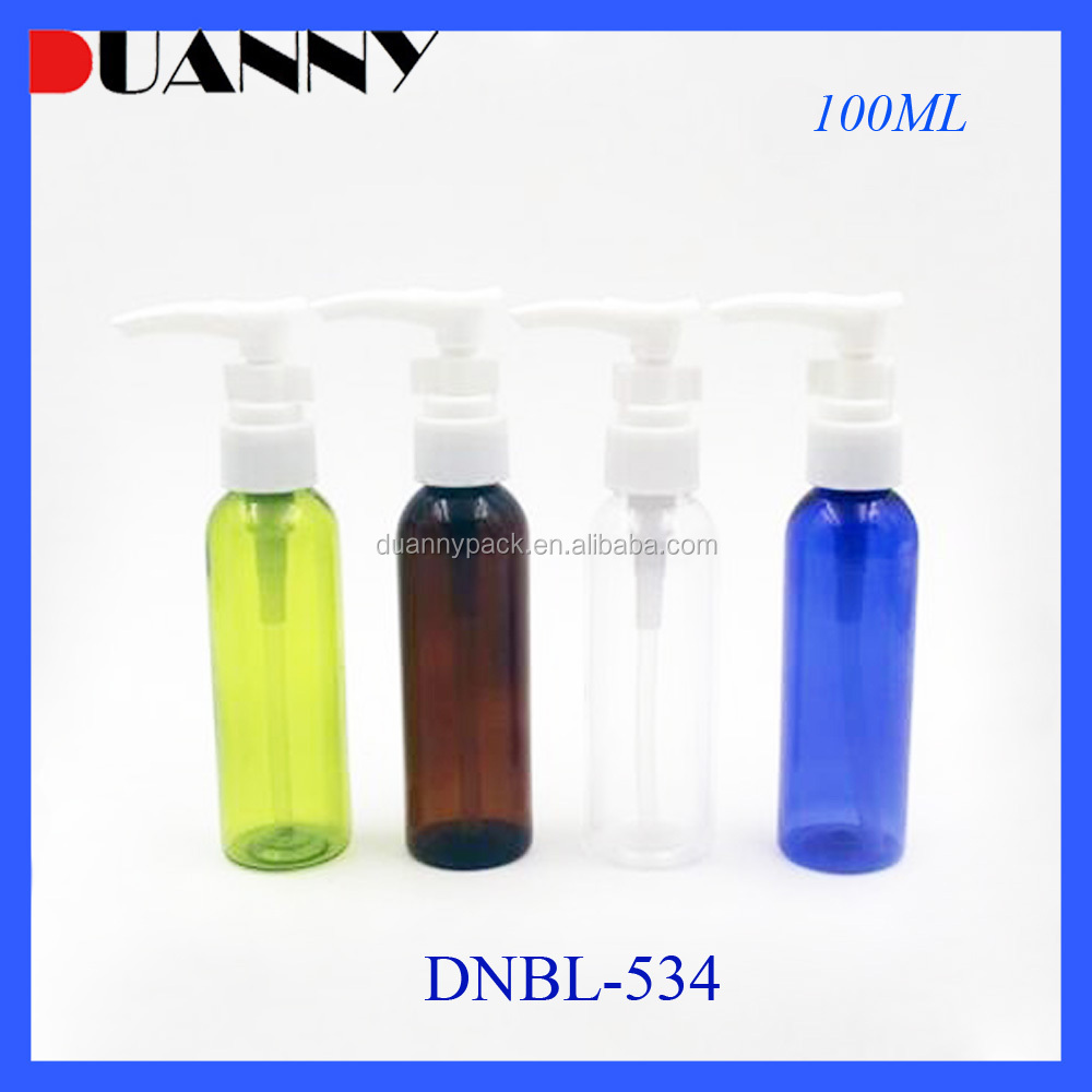 Alibaba China Empty 60 ml PET Plastic Bottle With Lotion Pump