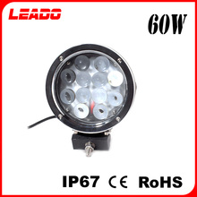 IP67 CE RoHS Certified product 60W led work light 12V auto car lamp for road roller