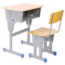 Wood+Metal Material and School Sets Specific Use werzalit top school desk