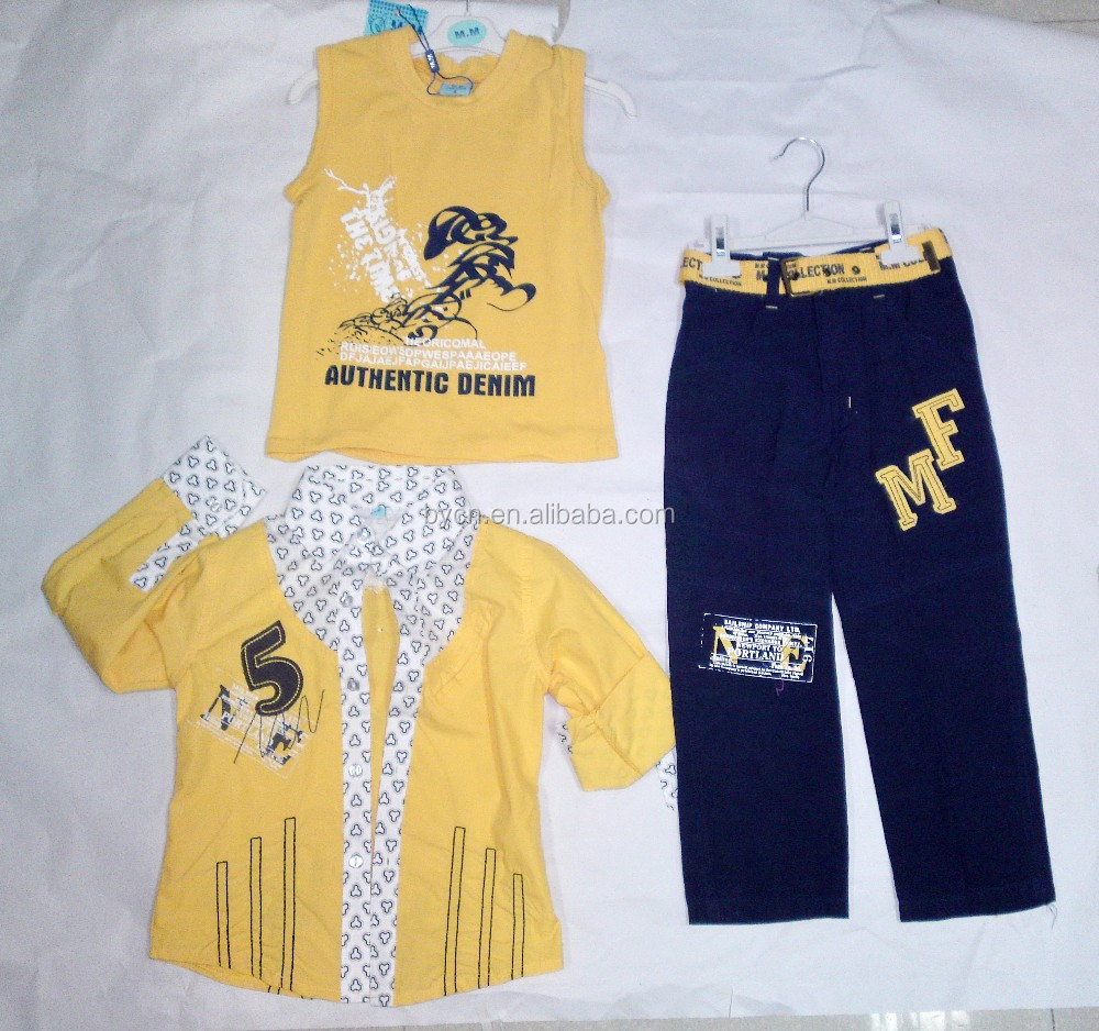 Children Baby Boys Clothing Sets kids Clothes