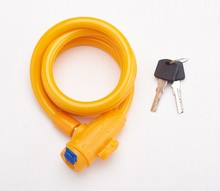 Steel Cable lock/bicycle lock/bike steel cable lock