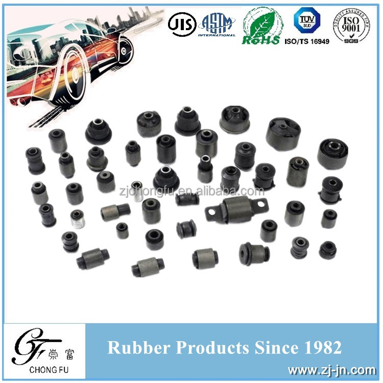 Auto Shock Absorber Metal Bonded Rubber Sleeve