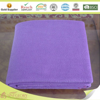100% polyester blanket polar fleece with anti pilling blanket
