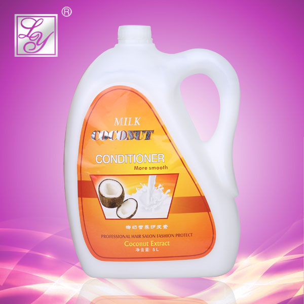Hot OEM milk coconut good hair conditioner