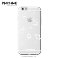 Best Selling Products Hard PC Transparent Cartoon Phone Case for iPhone 6/6S/6 Plus/6S Plus