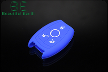 customized silicone car key cover for Mercedes-Benz with good quality