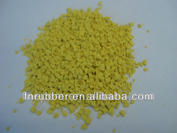 Professional manufacture colorful epdm rubber granules