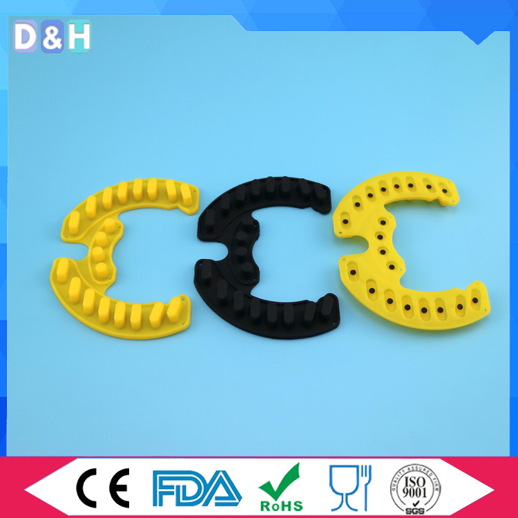 Custom made silicone rubber keypad for remote from China supplier