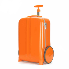 Unique Big Wheels Aluminum Frame Travel Suitcase Trolley Cabin Luggage Bag