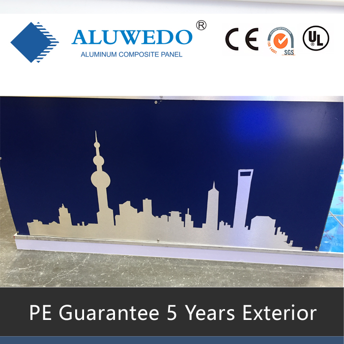 3mm/0.21mmx1220mmx2440mm PE paint UV printable digital printing ACP ACM aluminum composite sheet sign material Panel