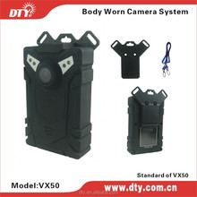 On Sale Body Worn Police Camera Video Recorder with Competitive Factory Price (VX50)