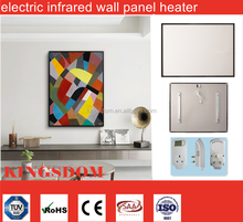 slimline electric panel heaters wall mounted infrared heating panel CE TUV SAA ROHS