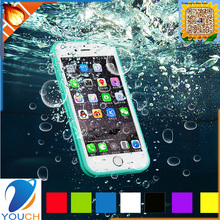 Hot selling colourfull soft tpu silicone outdoor sport waterproof mobile case for iPhone 6 6s 6 plus 6s plus