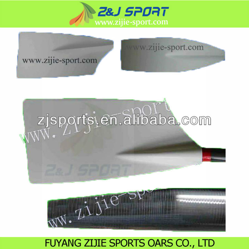 Carbon fiber Sculling oars and Rowing oars