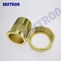 "1/2"" 3/4"" 1"" 11/2"" 2"" water meter brass fittings , couplings and nuts, brass pipe fitting nut, water meter brass connector"