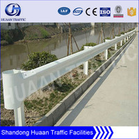 Armco Reinforced Steel Traffic Barrier for Roadway Safety