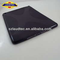 2013 New Soft TPU X Shape Case for iPad Air