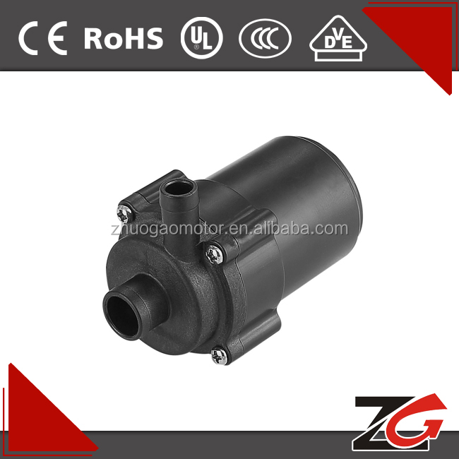 12v dc brushless water pump, dc motor ZGP3501-2
