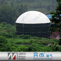 biogas septic tanks for sewage treatment