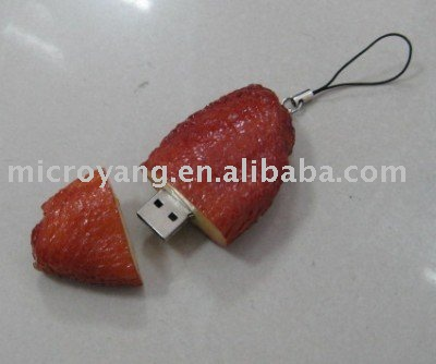 chicken wings 3D 4GB USB Flash Thumb Pen Memory Drive Novelty New