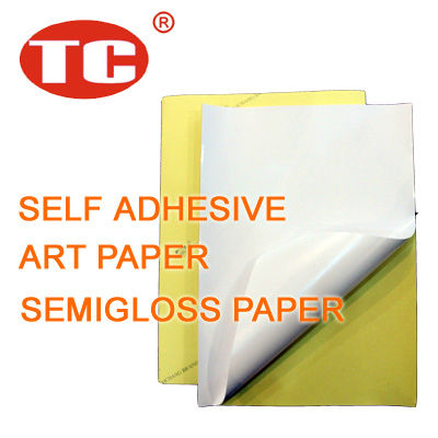 Self Adhesive Art Paper
