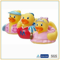 Custom various dress cute toy little duck