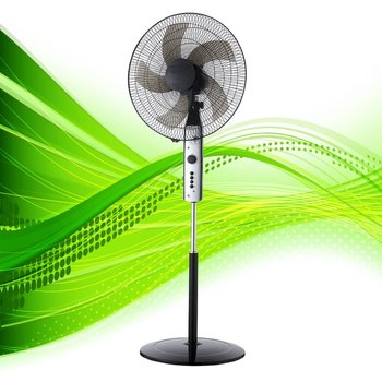 "18"" 5 blade stand fan, floor fan, city fan"