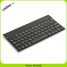 Aluminum cover universal mini bluetooth wireless keyboard for iOS / Android / windows tablet pc devices BK326B