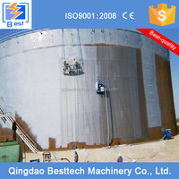 100% new design oil tanks vertical shot blasting machine