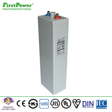 2017 shenzhen first power OPzV 2V 600AH battery