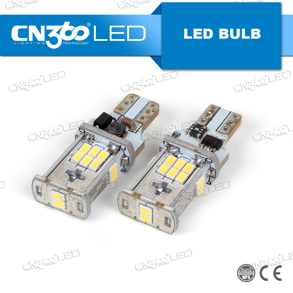 Non polarity 3020SMD chips 950lm t15 led canbus auto lights for cars