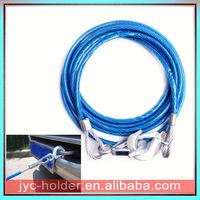 Steel tow cable with hooks H0Tqc tow recovery strap