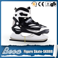 Semi soft toe 4 size adjustable stainless steel HRC50-52 adjustable ice skate blade