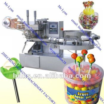 Automatic ball shape Lollipop Wrapping Machine
