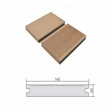 solid wpc wood plastic composite timber batten decking boards